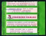 1975 Panini AUTOMOBILE complete sealed packet F1 Grand Prix Racing cars & drivers